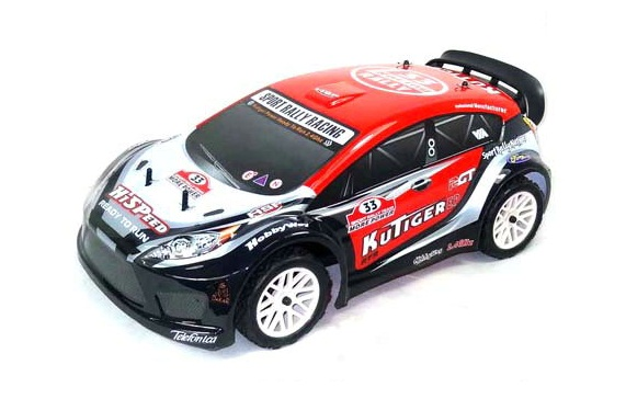 1:10 On-road Rally car 4WD, Brushed, RTR, 2.4G