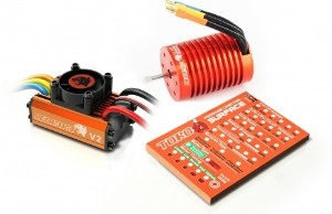 Brushless Motor & 60A ESC Speed Controller Combo ME716